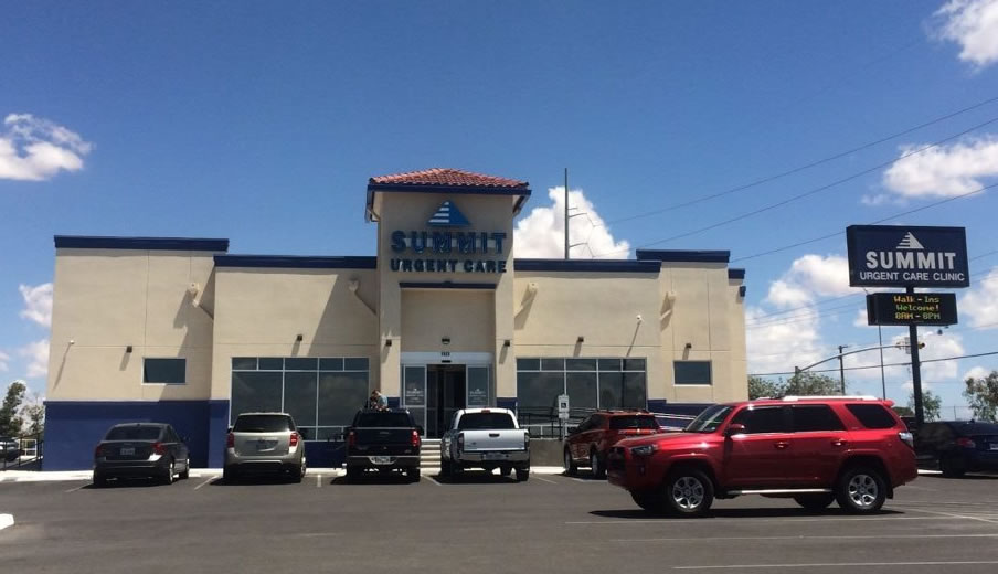 Summit Urgent Care, El Paso, TX - Exterior Photo